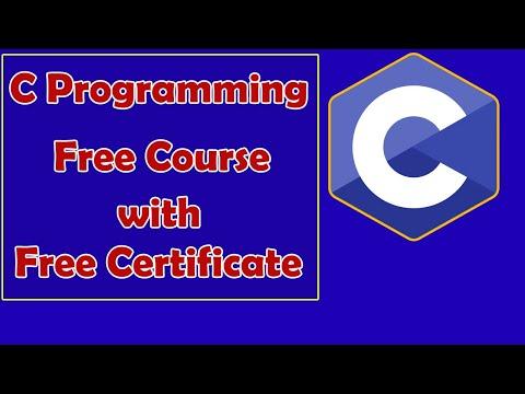 C Programming Free Certificate Course | C Programming | Basics of C Programming Language