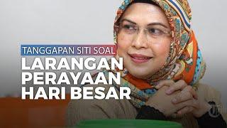 Soal Pelarangan Perayaan Hari Besar Keagamaan Ini Tanggapan Putri Ma'ruf Amin