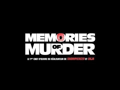 Memories of Murder - Bande annonce (2017) HD VOST