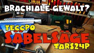 Hands on: TECCPO Säbelsäge TARS24P 1050W