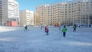 Дворовый хоккей 24.02.2018