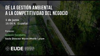 Webinar: De la gestión ambiental a la competitividad del negocio