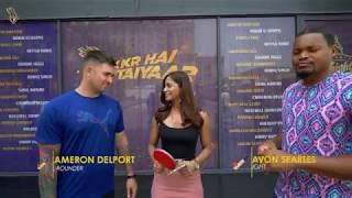 Cameron Delport vs Javon Searles   KKR Ka Boss Kaun   Kolkata Knight Riders   VIVO IPL 2018