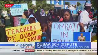 Parents and Students of Qubaa Primary School in Majengo-Mombasa demand for the Head Teacher's return