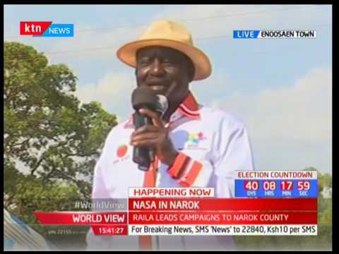 NASA brigade in Narok : Raila Odinga's speech