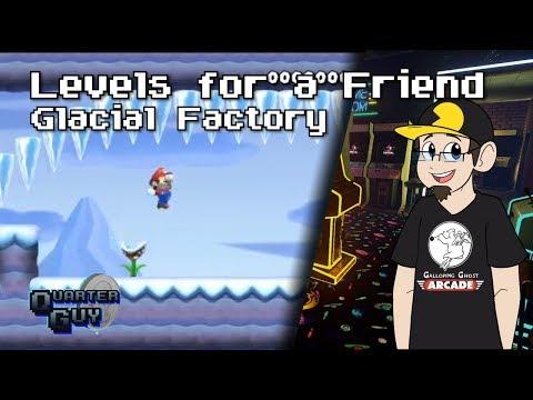 Super Mario Maker 2 - Levels for a Friend - Glacial Factory