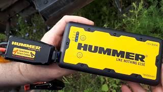 Hummer Jump Starter Power Bank Заводим трактор .