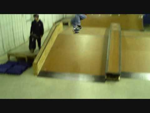Ryan Skateboarding at Our Place Skatepark