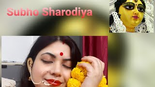 Durga Puja 2020 #mahalaya Sharad Navaratri, Durga puja Dressing #parasmani - Download this Video in MP3, M4A, WEBM, MP4, 3GP