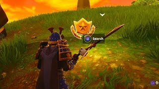 Follow the Treasure Map Found in Dusty Divot (Fortnite Season 5 Challenges)