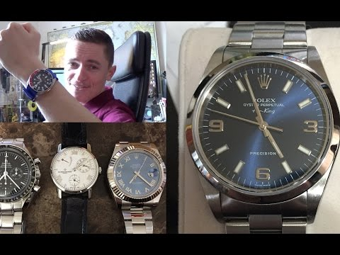 The Harden Anniversary Collection – Vacheron Constantin Patrimony, Omega Speedmaster, Rolex DateJust