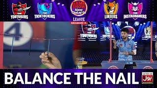 Balance The Nail   Game Show Aisay Chalay Ga League Season 4   Danish Taimoor Show   TikTok