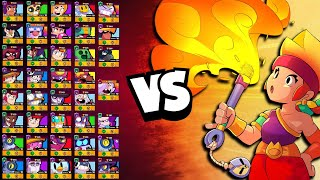 Amber 1v1 vs EVERY Brawler | She ROASTS the Competition!