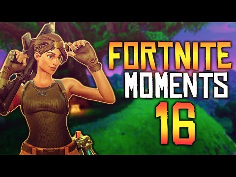 Fortnite Battle Royale WTF & Funny Moments Episode. 16