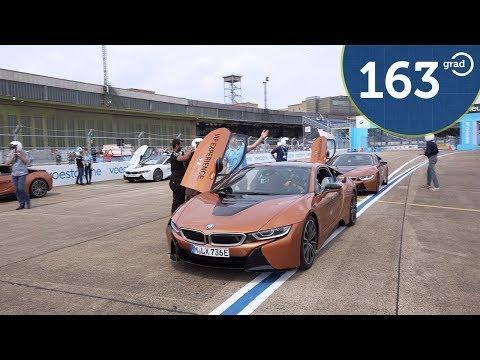 RaceTrack ABB Formula e 2019 Berlin Tempelhof - Hot Lap - BMW i8 ViP Experience - 163 Grad