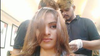 My Hair Color Transformation || Jawed Habib  ||Priya Deep