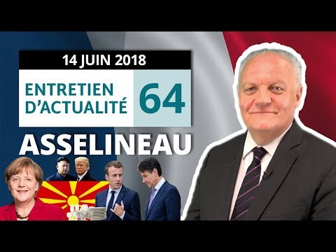 EA64 : Aquarius - Privatisation - Merkel - G7 - OCS - Trump - Kim Jong-un - Vaisselle - Exit tax