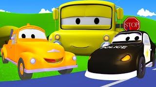 Odtahové auto pro děti - Policejní auto Matt