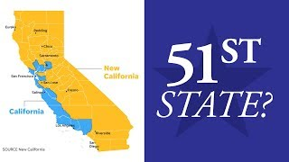 Californians Seek To Break Away From San Francisco and Los Angeles To Form 51st State (REACTION)