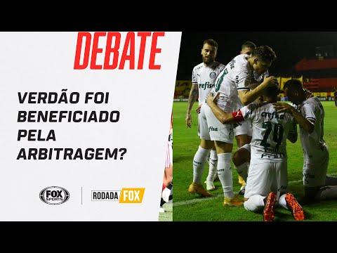 SPORT 0X1 PALMEIRAS | Verdão foi beneficiado pela arbitragem? Rodada FOX debate