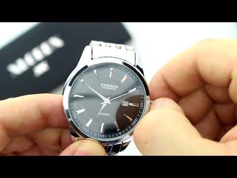 Unboxing XLORDX Herren Uhr Datum Analog Quarzuhr Edelstahl Armbanduhr
