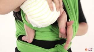 Как завязать слинг: Крест под карманом