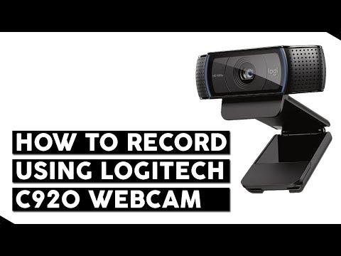 Logitech Webcam Software - How to Record Videos using C920 Webcamera