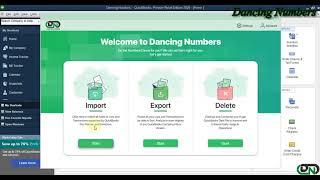 Import Receive Payments into QuickBooks Desktop using Dancing Numbers
