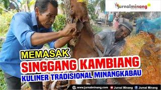 Enak Banget!! SINGGANG KAMBIANG   Kuliner Tradisonal Minangkabau