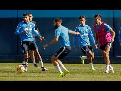 Luis Hernández, duda para medirse al Sporting por lesión abductor