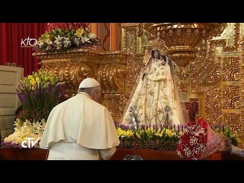 Le Pape rencontre le clergé et les religieux équatoriens
