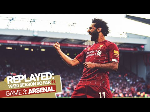 REPLAYED: Liverpool 3-1 Arsenal | Salah nets a brace as the Reds shoot down the Gunners