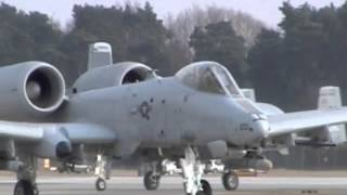 preview picture of video 'RAF Lakenheath A-10's First Mission 16-03-15'