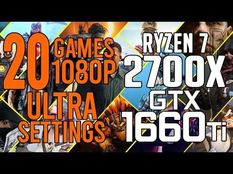 Rust - Ryzen 7 2700X & GeForce RTX 2080 - Benchmark Test - RTX 2080
