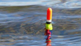 Как монтировать поплавочную удочку на карася весной