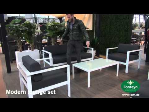 Gartenmöbelset Loungeset Modern