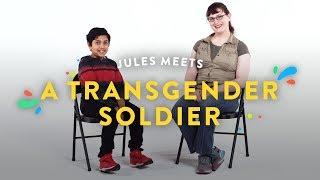 Kids Meet a Transgender Soldier (Jules) | Kids Meet | HiHo Kids