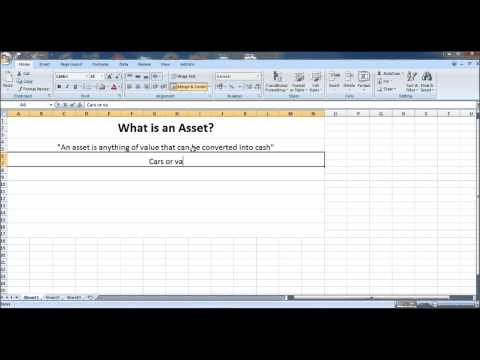 Free Online Bookkeeping Course #3 - What is an Asset? - YouTube