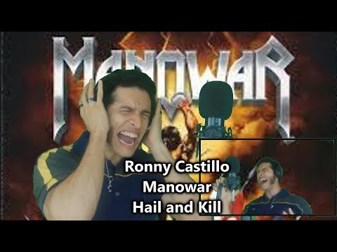 Hail and Kill - MANOWAR Cover By Ronny Castillo