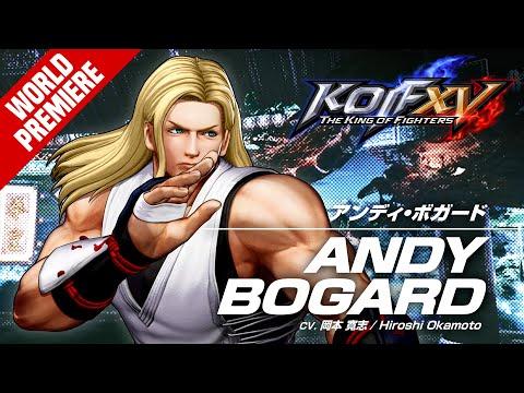 《拳皇15》最新宣傳影片公開 安迪·博加德