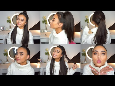lazy hairstyles for people who can&#39t do hair lol