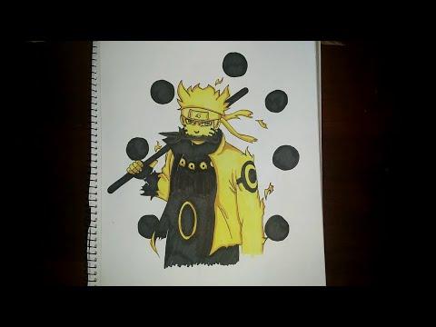 Speed Drawing - Naruto (Six Paths Sage Mode) [Naruto Shippuden]