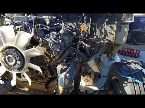 F100 4 6 Crown Vic Swap Part 9 ENGINE RUNS - смотреть онлайн