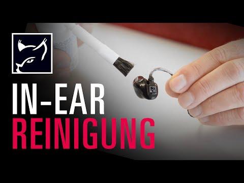 Tutorial: So reinigst du deine In-Ears richtig