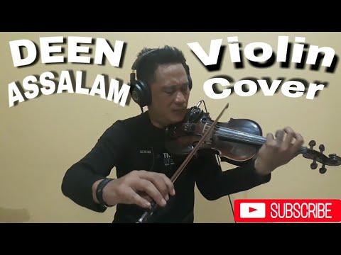 , title : 'DEEN ASSALAM -Sabyan - violin cover by robin zebua 👇Lirik lagunya'