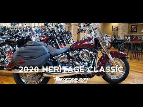 2020 Harley-Davidson® Heritage Classic 107 : FLHC
