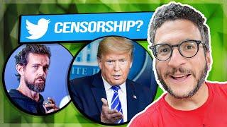 Trump Threatens to SHUT DOWN Twitter - Lawyer Explains - Viva Frei Vlawg