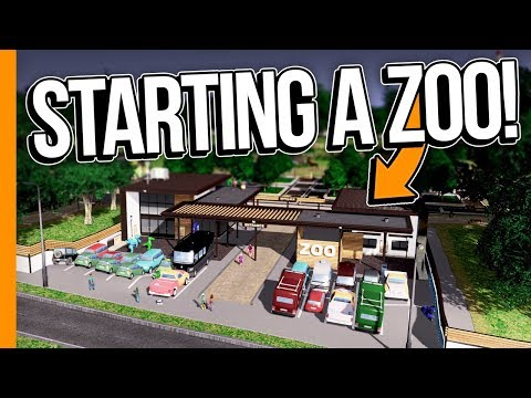 STARTING A ZOO! // Cities: Skylines Campus - Part 5
