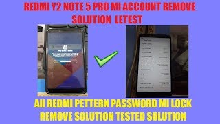 MRT Dongle Redmi Y2note 5 pro MI Account removed Update v2