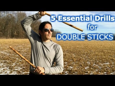 5 Essential Double Sticks Escrima Drills